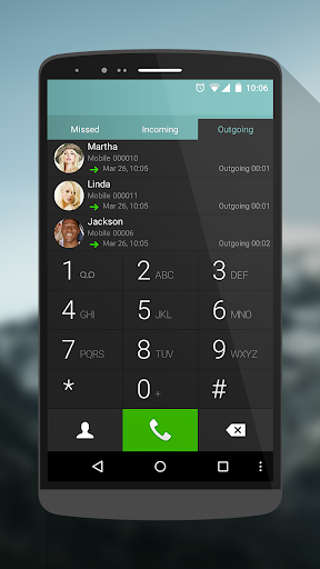ExDialer G3 Night Theme