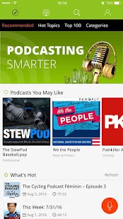 Podbean Podcast App- screenshot thumbnail