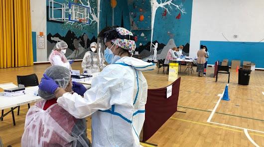 Siete brotes de coronavirus con 34 casos en Almería en la última semana