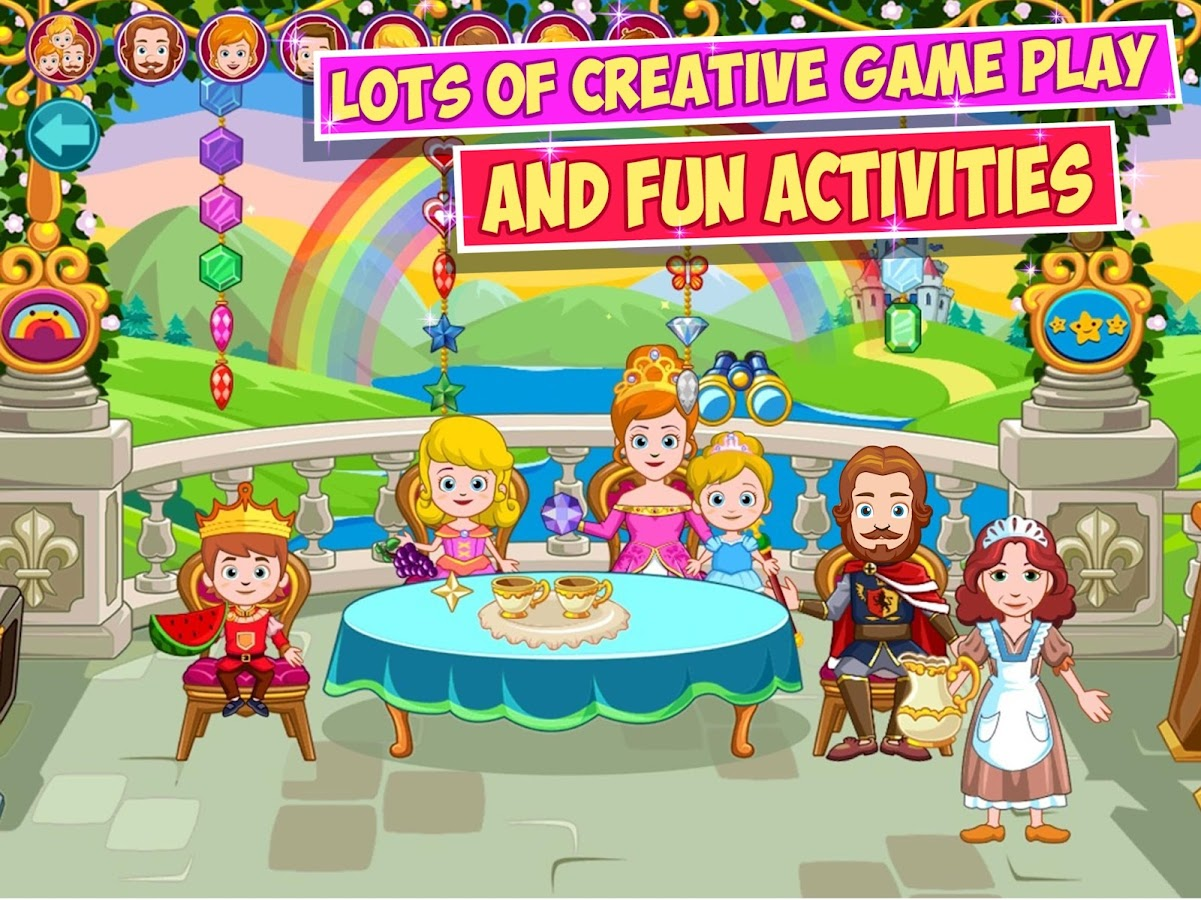 My little princess castle android apps on google play for Little princess castle