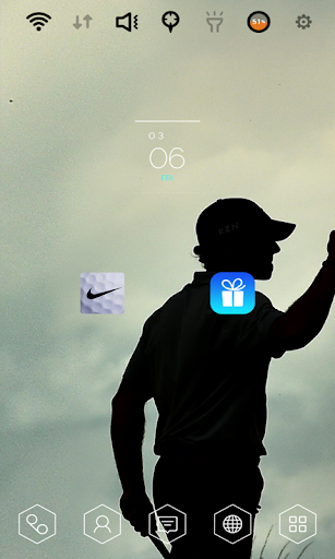 Nike Golf JUST DO IT theme