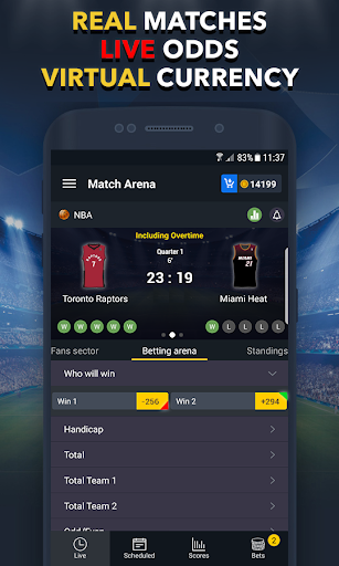 Sports Betting Game - BETUP 1.16 screenshots 2