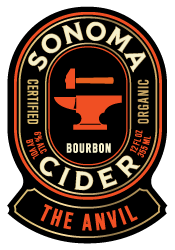 Logo of Sonoma Cider The Anvil - Bourbon Cider