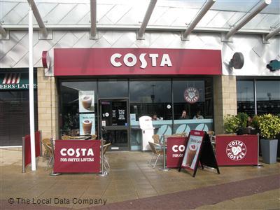 Costa On Auchinlea Road Coffee Shops In City Centre