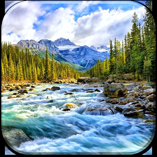 個人化App|河流动态壁纸 LOGO-3C達人阿輝的APP