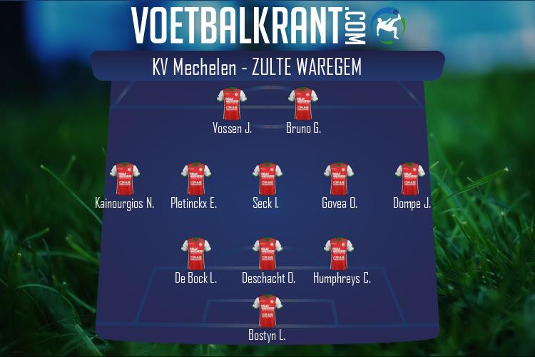 Zulte Waregem (KV Mechelen - Zulte Waregem)