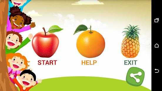 Kids Education Learn Fruits - náhled