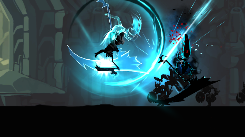 Shadow of Death: Dark Knight - Stickman Fighting Screenshot 1