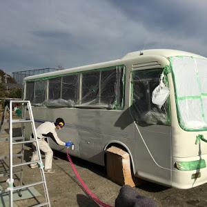 コースター  KK-RX4JFETのカスタム事例画像 バスちゃんねるさんの2019年12月02日10:13の投稿