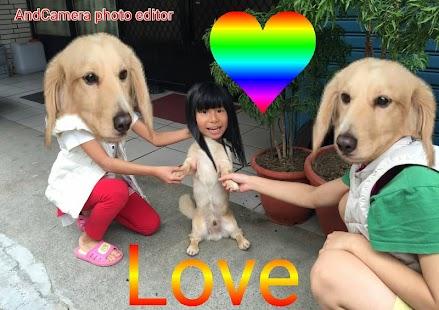 AndCamera/Photo Editor - náhled