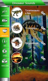 Dinosauří Zvuky - náhled