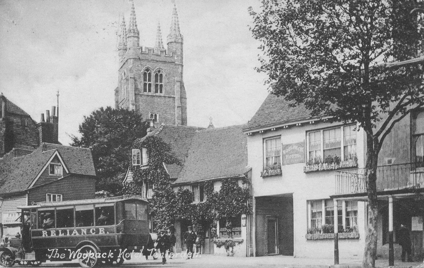 Tenterden High Street - Woolpack and Town HallArchive Photos