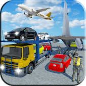 3D Cargo Airplane : Car Transporter Euro Truck