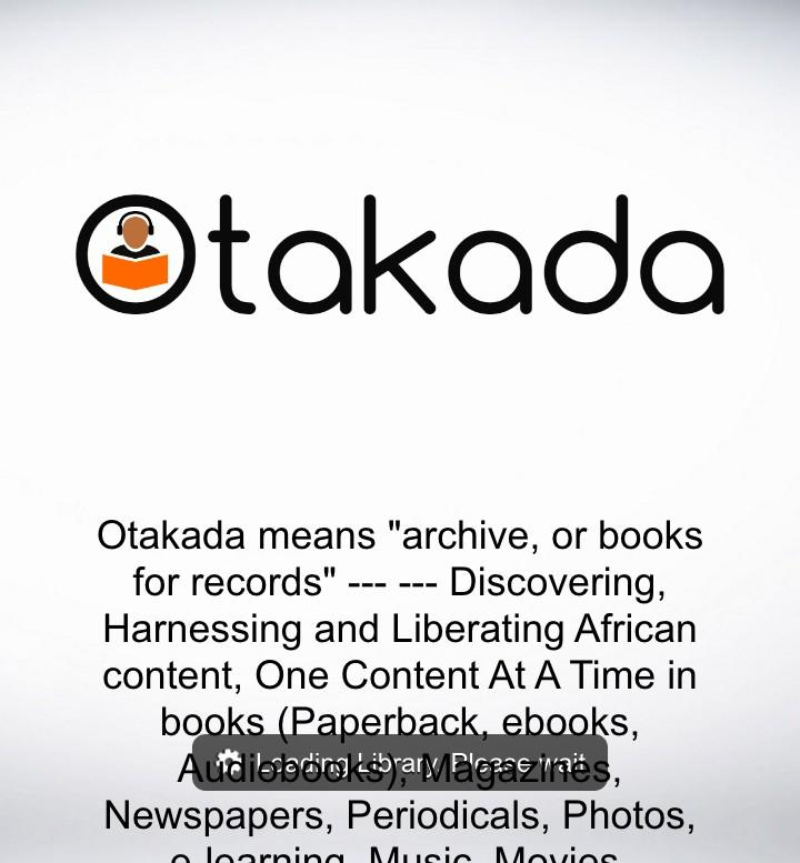 Otakada All In One Mobile Library Store App- screenshot