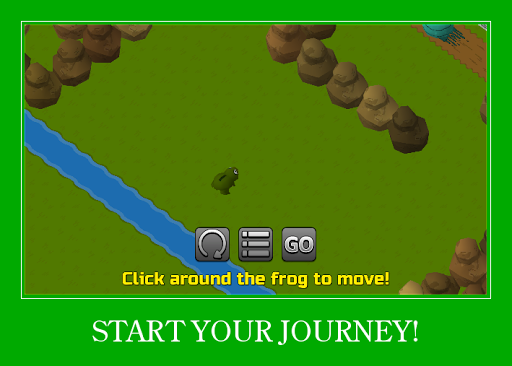 Froggy Crosses The Road