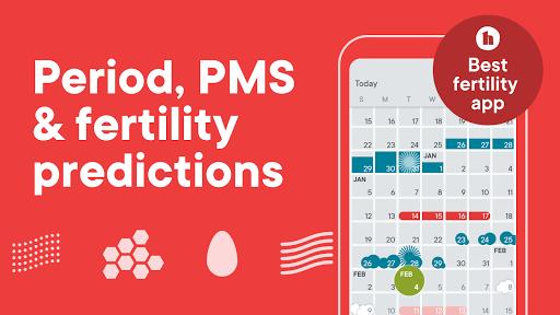 Clue Period Tracker, Ovulation & Cycle Calendar screenshot 2