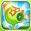 Zombie war plants flying icon