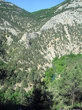 Photo: Еще один гребешок в верховьях Чернореченского каньона. За ущельем - кордон Красный Камень.