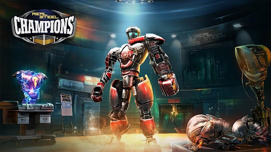 Real Steel Boxing Champions Apk Mod Dinheiro Infinito 1