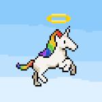 Unicorn Jump Icon