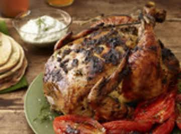 Herb Encrusted Roast Chicken