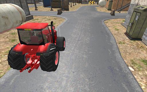工業用トラクターシミュレータ