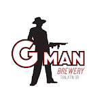 Logo for G-Man Brewery