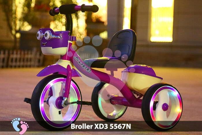 Xe đạp ba bánh Broller XD3-5567N 2