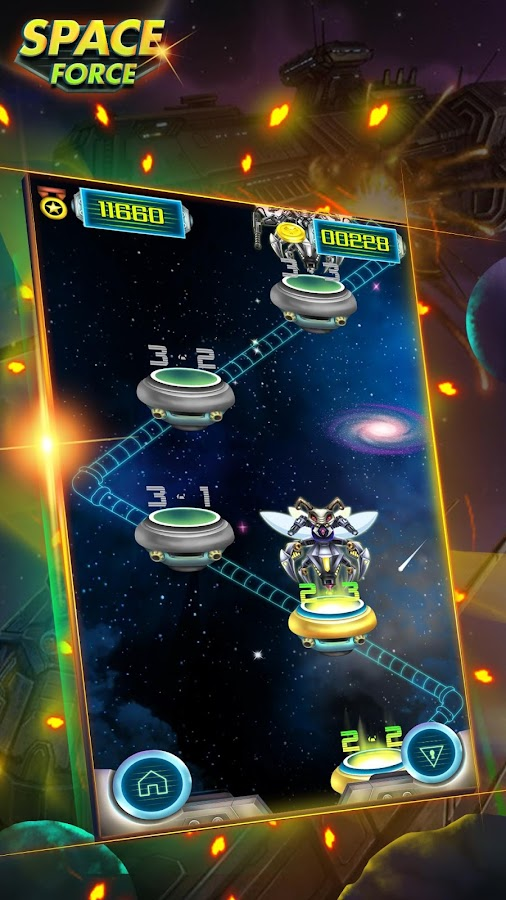 Space Force: Alien war- screenshot