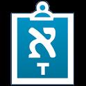Hebrew/Yiddish Notes+Keyboard icon