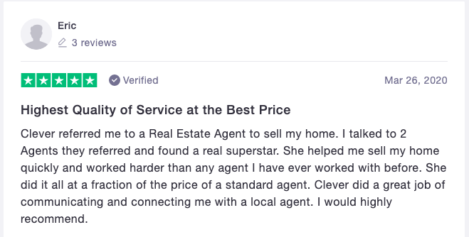 Eric's Clever Real Estate Review
