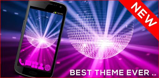 Приложения Disco Music GO Launcher Theme (apk) бесплатно скачать для Android / ПК screenshot