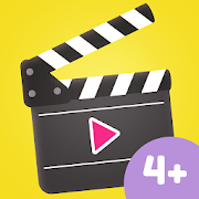 App Icon for Creative Movie Maker for Kids App in Czech Republic Google Play Store