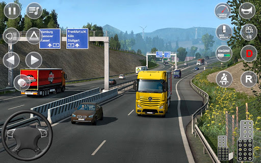 Euro Truck Transport Simulator 2: Cargo Truck Game screenshots 6