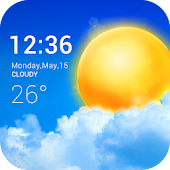 Tải Transparent weather widget APK