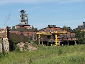 Photo: Opuszczony kompleks kopalni w okolicach Wałbrzycha
