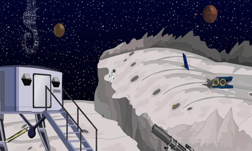 月からの脱出