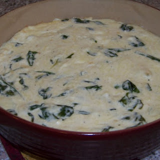 Warm Spinach Cheese Dip.