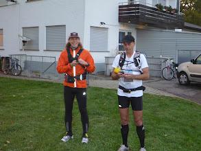 Photo: Meine Laufkameraden Peer und Ralf