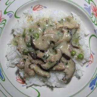 Coriander Chicken Mushroom Stew