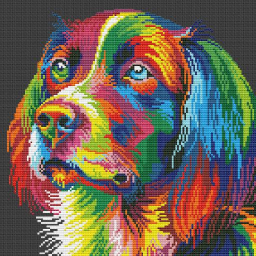Cross Stitch Sewing Patterns: Needlepoint Stitches Icon