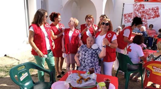Cruz Roja celebra la fiesta de fin de curso del Programa de Atención a Mayores