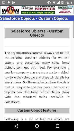 Tutorials for Salesforce 2018 1.0 screenshots 3