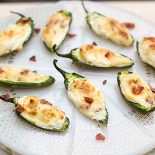The Best Bacon Cream Cheese Stuffed Jalapenos.