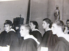 Photo: Fray Cicero, Peña, Luis Trapiello, Pedro,....