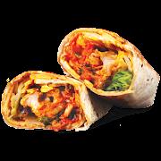 Cheesy Kimchi Chicken Wrap