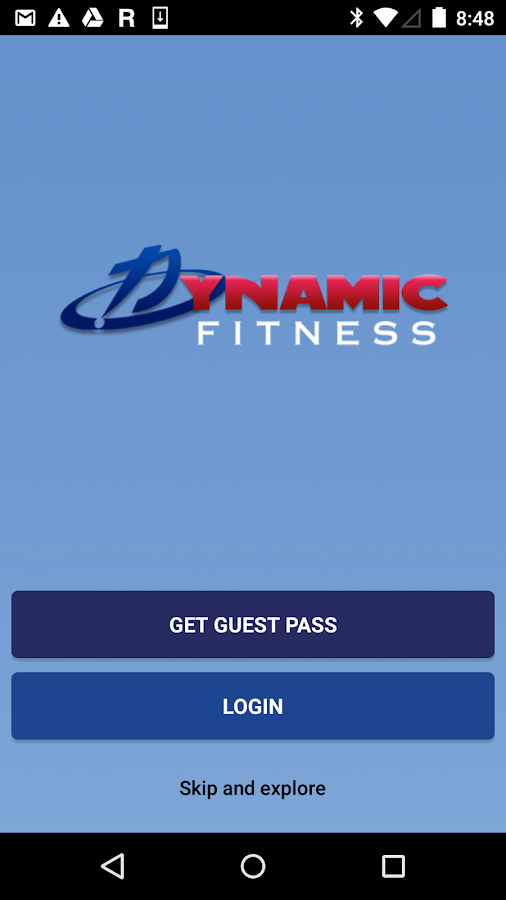 Dynamic Fitness TX- screenshot