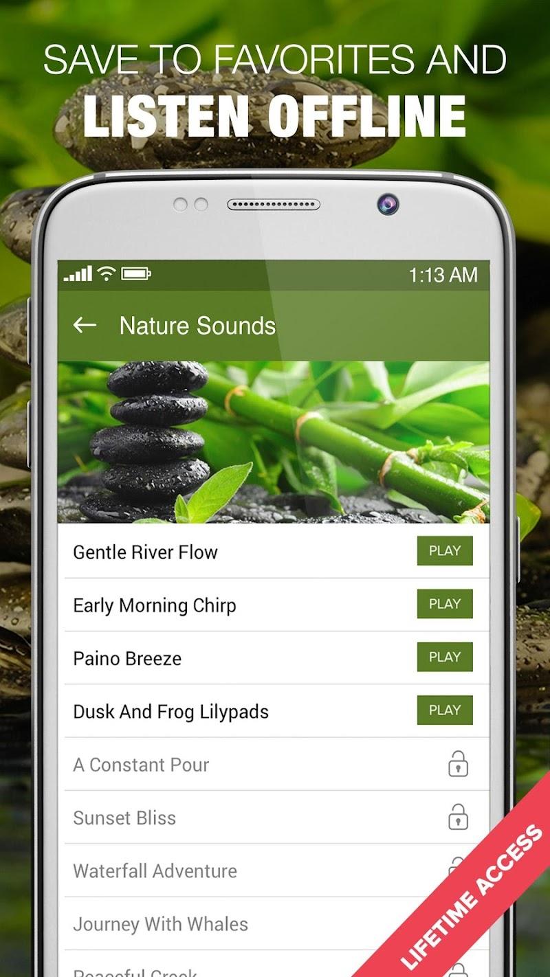 1000 Nature Sleep Relax Sounds Screenshot 2