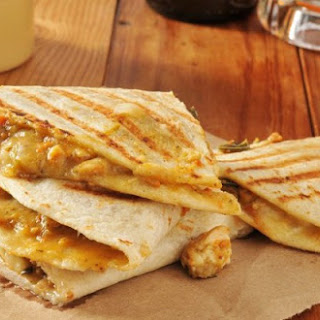 Weight Watchers Chicken and Cheddar Quesadillas