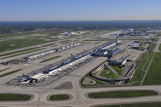 Photo: Detroit Metro Airport (from the south, looking north).  CREDIT: Wayne County Airport Authority/Vito Palmisano